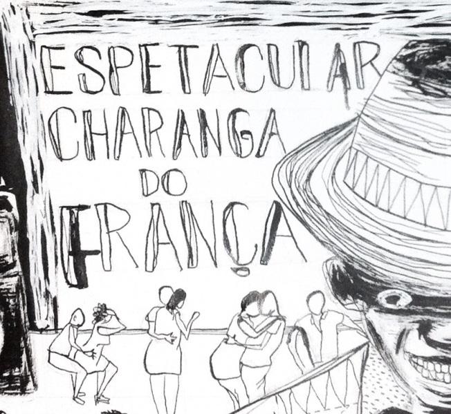 capa charanga - arte kiko dinucci